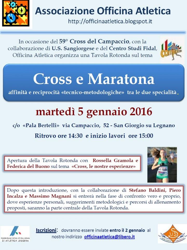 Cross e maratona