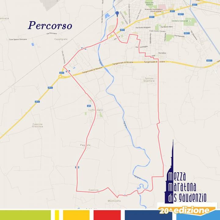 Mezzamaratona di San Gaudenzio Novara 2016