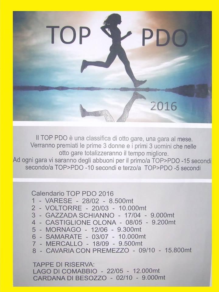 Top Piede d'Oro 2016