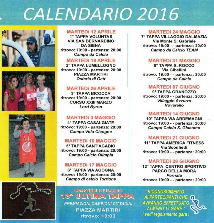 Grand prix Podistico Città di Novara 2016 b