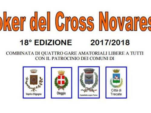 Poker del Cross Novarese 2017/2018