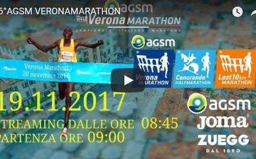 Maratona di Verona 2017 – Diretta Tv streaming live