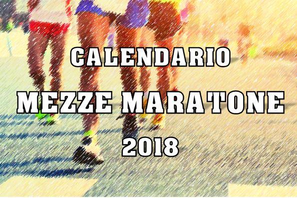 Calendario Fidal Calabria.Calendario Mezze Maratone Italiane 2018