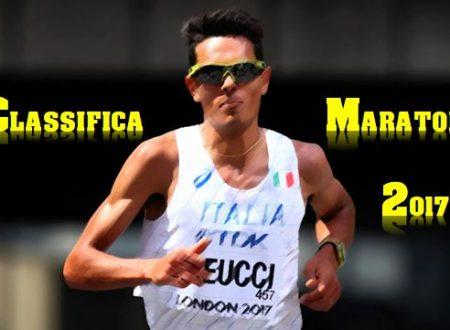 Maratona 2017 – La classifica dei migliori maratoneti Italiani