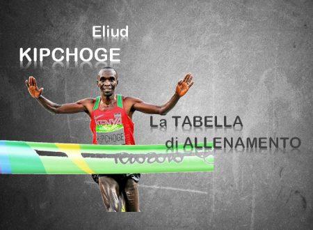Come si allena Eliud Kipchoge