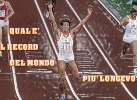 Atletica – Qual è il record del mondo più longevo?