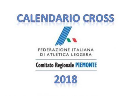Fidal Piemonte Cross 2018 – Calendario gare