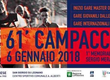 Campaccio 2018 – domani ultimo giorno per iscriversi