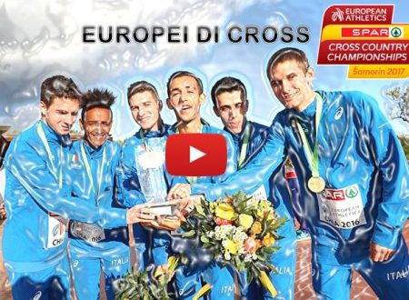 Europei di cross, Samorin 2017 – Diretta Streaming e differita TV