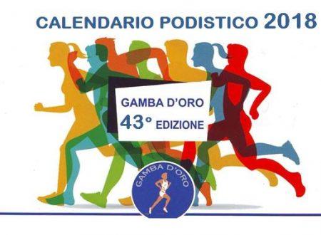 Gamba d'Oro 2018 – Calendario Gare