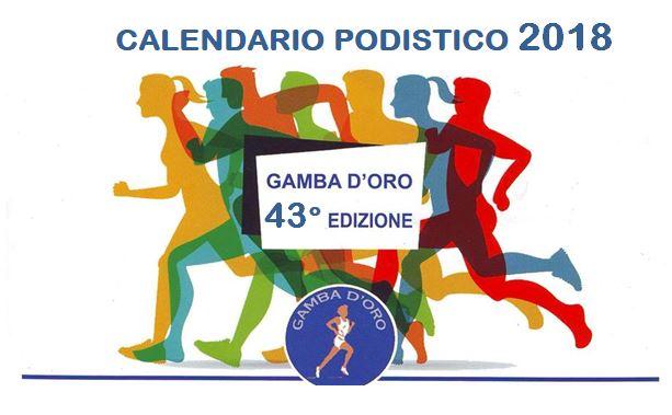 Calendario Podismo Piemonte.Gamba D Oro 2018 Calendario Gare
