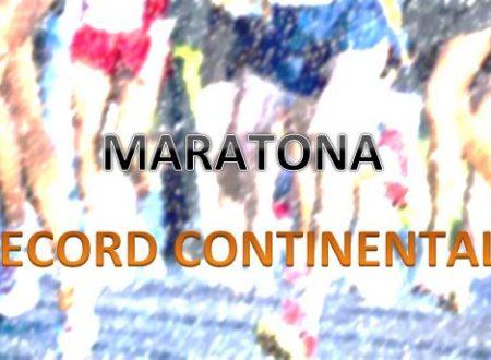 Maratona – I record continentali