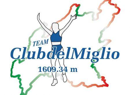 Club del Miglio 2018 – Calendario Gare