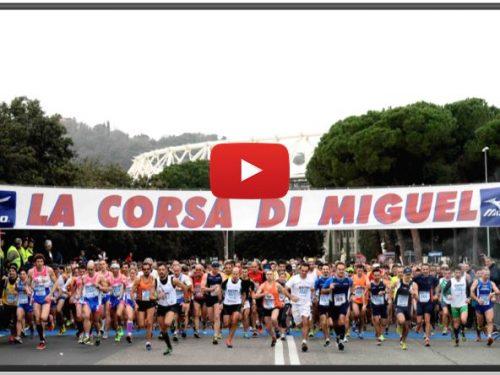 La Corsa di Miguel – Roma 21 gennaio 2018 – Differita TV