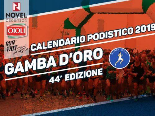 Gamba d'Oro 2019 – Calendario gare