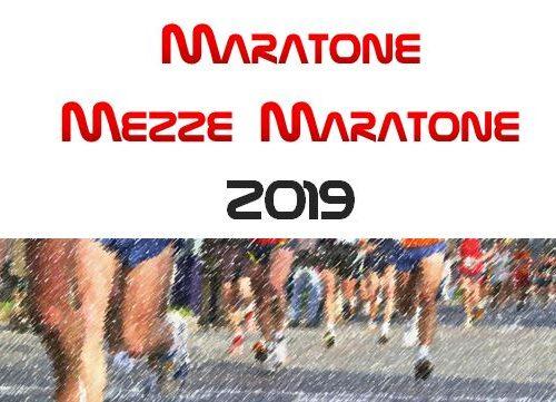 Calendario Maratone e Half Marathon 2019