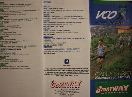 VCO in Corsa 2019 – Calendario gare