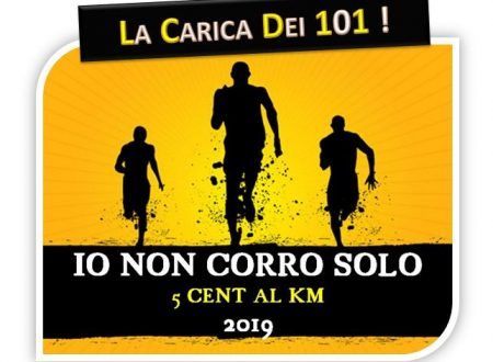 Io Non Corro Solo 2019 – La carica dei 101 (che corre per beneficenza)