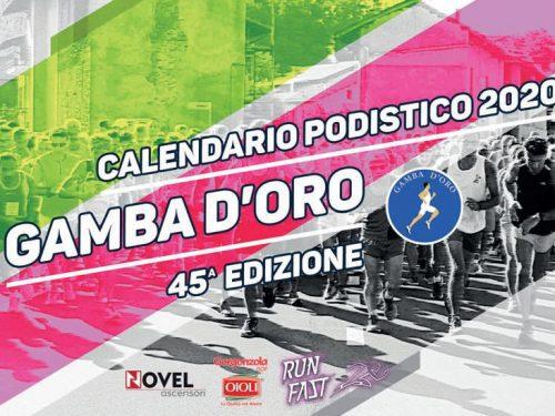 Gamba d'Oro 2020 – Calendario gare