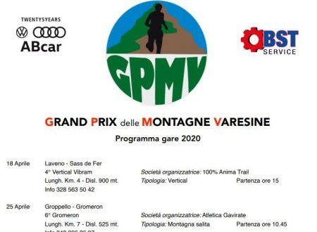 Grand Prix delle Montagne Varesine 2020 – Programma gare