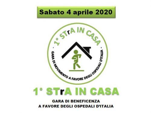 1° STrA IN CASA – Gara di beneficenza a favore degli ospedali d'Italia